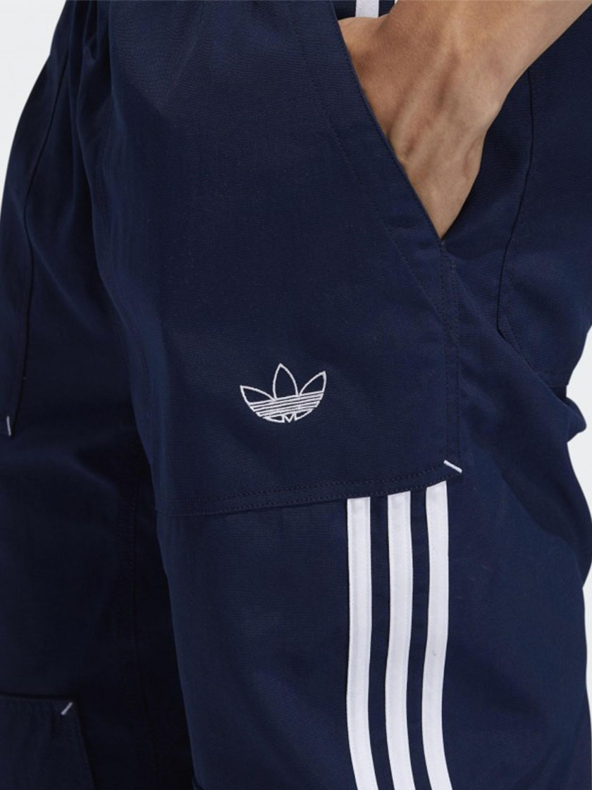 Брюки Adidas Originals ASW WORKWEAR цвет Синий - 4